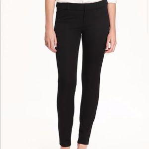 Mid-Rise Black Pixie Pants